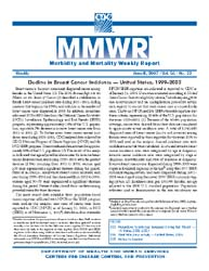 Morbidity and Mortality Weekly Review (M... by Center for Disease Control (Cdc) and Prevention