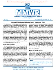 Morbidity and Mortality Weekly Report (M... by Center for Disease Control (Cdc) and Prevention