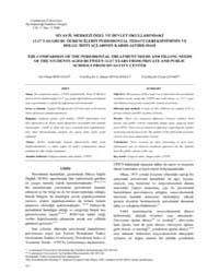 Cumhuriyet Dental Journal : Vol. 11, No ... Volume Vol. 11, No 2 by OZDEMIR, Ali Kemal