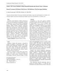 Cumhuriyet Dental Journal : Vol. 13, No ... Volume Vol. 13, No 2 by OZDEMIR, Ali Kemal