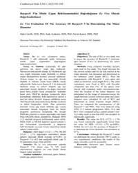 Cumhuriyet Dental Journal : Vol. 14, No ... Volume Vol. 14, No 2 by OZDEMIR, Ali Kemal