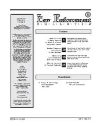 Fbi Law Enforcement Bulletin : August 20... by Sandoval, Vincent