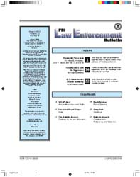 Fbi Law Enforcement Bulletin : August 20... by Westveer, Author