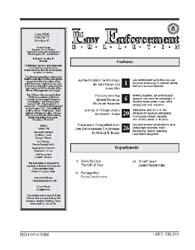 Fbi Law Enforcement Bulletin : June 2002... by Pollock, John