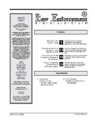 Fbi Law Enforcement Bulletin : June 2003... by Witzig, Eric