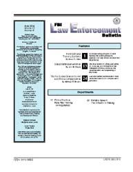 Fbi Law Enforcement Bulletin : June 2004... by Della, Brian