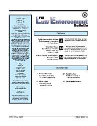Fbi Law Enforcement Bulletin : October 2... by Regini, Chuck