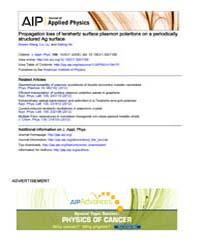 Journal of Applied Physics : Propagation... Volume Issue : November 2008 by Bowen Wang, Liu Liu, and Sailing He