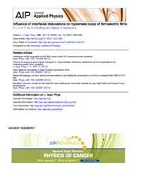 Journal of Applied Physics : Influence o... Volume Issue : November 2008 by Y. L. Li, S. Y. Hu, S. Choudhury, M. I. Baskes, A....