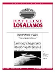Dateline : Los Alamos; May 1998 Volume May 1998 by Coonley, Meredith