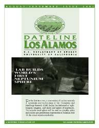 Dateline : Los Alamos; August-September ... Volume August-September 2001 by Coonley, Meredith