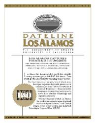 Dateline : Los Alamos; August-September ... Volume August-September 1998 by Coonley, Meredith