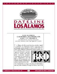 Dateline : Los Alamos; September 1995 Volume September 1995 by Coonley, Meredith