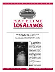 Dateline : Los Alamos; October 1996 Volume October 1996 by Coonley, Meredith