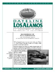 Dateline : Los Alamos; October 1998 Volume October 1998 by Coonley, Meredith