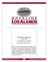 Dateline : Los Alamos; November-December... Volume November-December 1996 by Coonley, Meredith