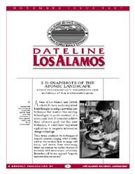 Dateline : Los Alamos; November 1997 Volume November 1997 by Coonley, Meredith