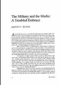 Parameters : The U.S. Army's Senior Prof... by Us Army