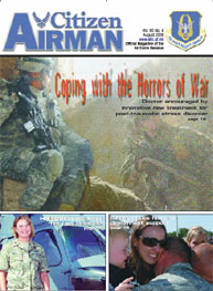 Citizen Airman Magazine; August 2008 Volume 60, Issue 4 by Tyler, Cliff