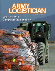 Army Logistician; September-October 2004 Volume 36, Issue 5 by Heretick, Janice W.