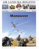 Air Land Sea Bulletin : May 2009 Volume Issue 2 by Waggener, Bea