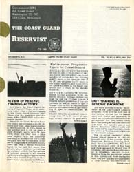 The Reservist Magazine : Volume 10, Issu... by Coast Guard, United States