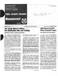 The Reservist Magazine : Volume 8, Issue... by Coast Guard, United States