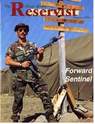 The Reservist Magazine : January 1994 by Kruska, Edward J.