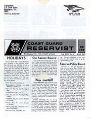 The Reservist Magazine : Volume 19, Issu... by Coast Guard, United States