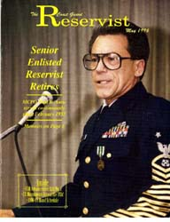 The Reservist Magazine : May 1996 by Kruska, Edward J.