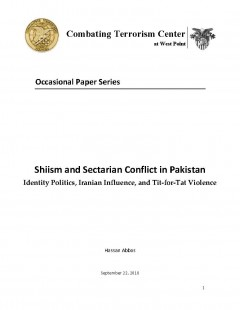 Combating Terrorism Center (Ctc) White P... Volume 22-Sep-10 by Abbas, Hassan