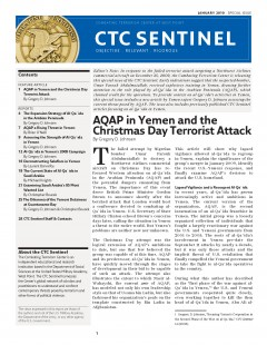 Combating Terrorism Center (Ctc) Sentine... Volume Special Issue by Marquardt, Erich