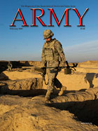 Army Magazine : February 2009 Volume 59, Issue 2 by French, Mary Blake