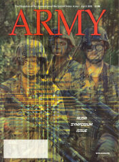Army Magazine : April 2001 Volume 51, Issue 4 by French, Mary Blake