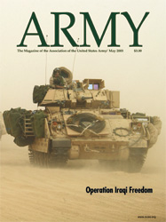 Army Magazine : May 2003 Volume 53, Issue 5 by French, Mary Blake