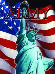 Army Magazine : July 2005 Volume 55, Issue 7 by French, Mary Blake