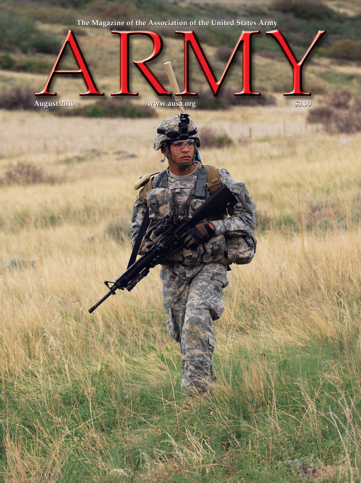 Army Magazine : August 2010 Volume 60, Issue 8 by French, Mary Blake