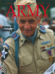Army Magazine : September 2003 Volume 53, Issue 9 by French, Mary Blake