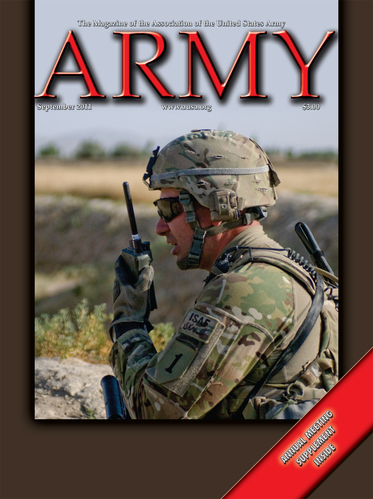Army Magazine : September 2011 Volume 61, Issue 9 by French, Mary Blake