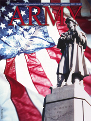 Army Magazine : November 2002 Volume 52, Issue 11 by French, Mary Blake