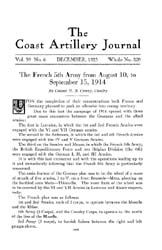 Coast Artillery Journal; December 1923 Volume 59, Issue 6 by Clark, F. S.