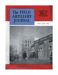 The Field Artillery Journal : January-Fe... Volume January-February 1948 by Coleman, John E.