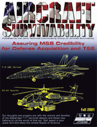 Aircraft Survivability Journal : Fall 20... Volume Fall 2001 by Lindell, Dennis