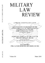 Military Law Review : January 1984 ; Vol... by Department of the Army, Headquarters