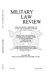 Military Law Review : July 1982 ; Volume... by Department of the Army, Headquarters