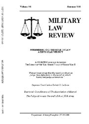 Military Law Review : July 1995 ; Volume... by Department of the Army, Headquarters