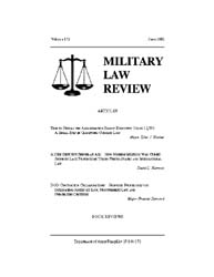 Military Law Review : June 2002 ; Volume... by Department of the Army, Headquarters