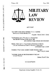 Military Law Review : June 1998 ; Volume... by Department of the Army, Headquarters