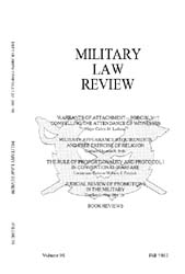Military Law Review : October 1982 ; Vol... by Department of the Army, Headquarters