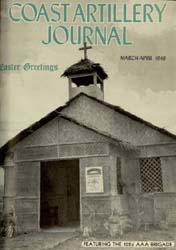 Coast Artillery Journal; March-April 194... Volume 91, Issue 2 by Bradshaw Jr., Aaron